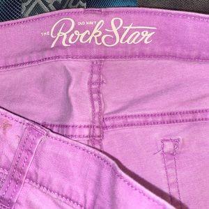 Purple rockstar skinny